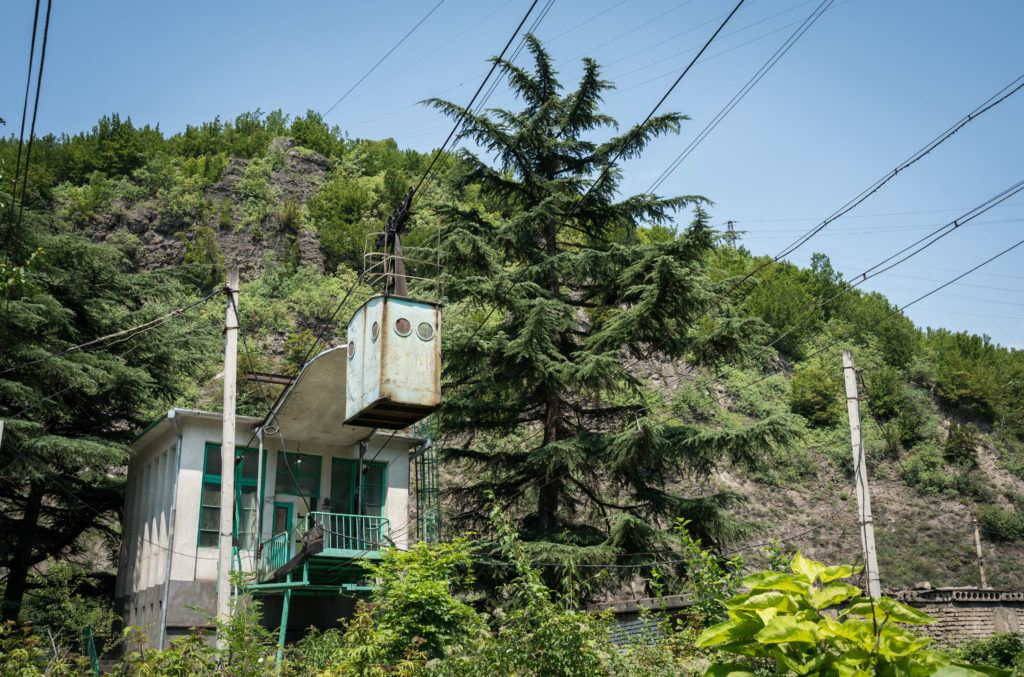 Chiatura Cable Cars | Imereti Region