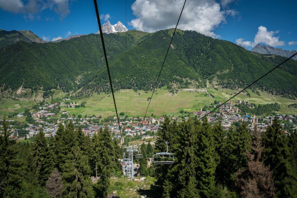 Mestia Georgia: Zuruldi & Hatsvali Chairlift | Svaneti Georgia