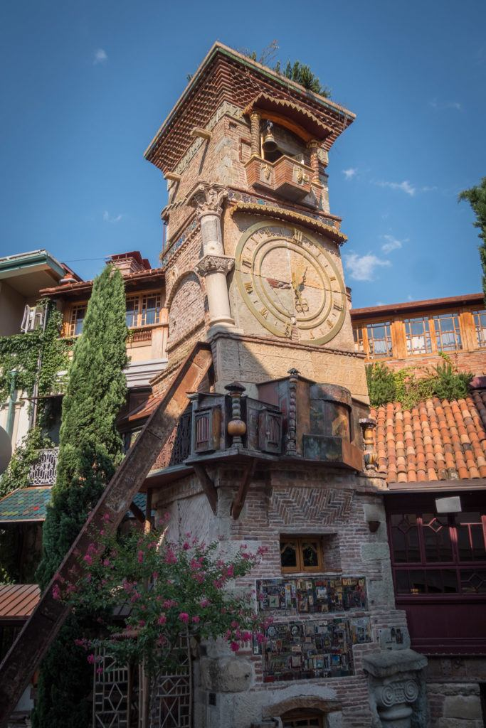 Things To Do in Tbilisi attractions | Places To Visit In Tbilisi Map Google: Puppet Theatre Clock Tower