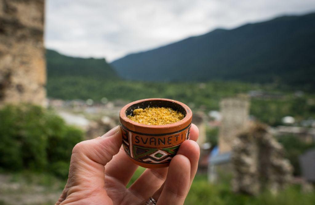 Svanetian salt Mestia Food