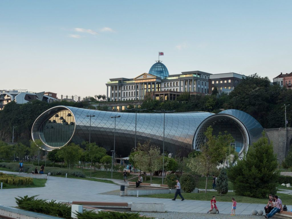 Things To Do in Tbilisi attractions | Places To Visit In Tbilisi Map Google: Rike Park