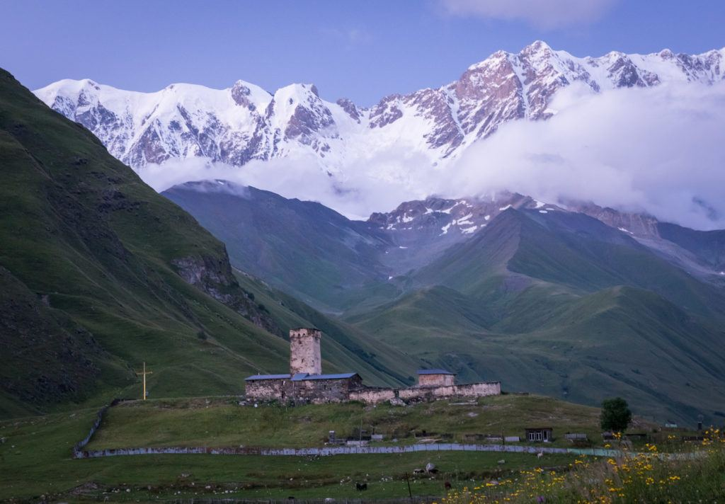 Ushguli Georgia: Lamaria Church & Monastery | Svaneti Georgia
