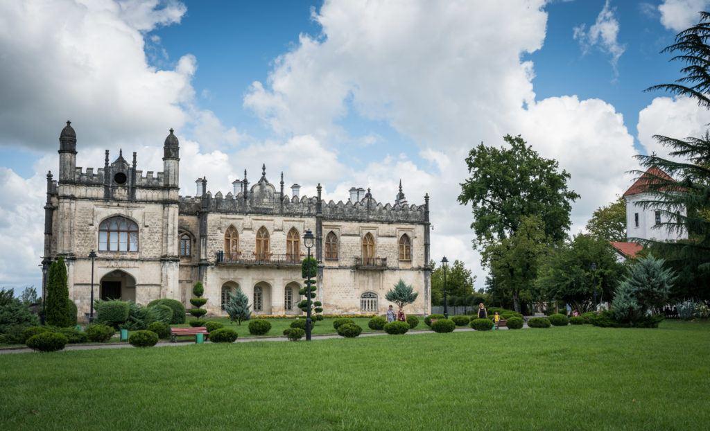 Dadiani Palace in Zugdidi (Samegrelo)