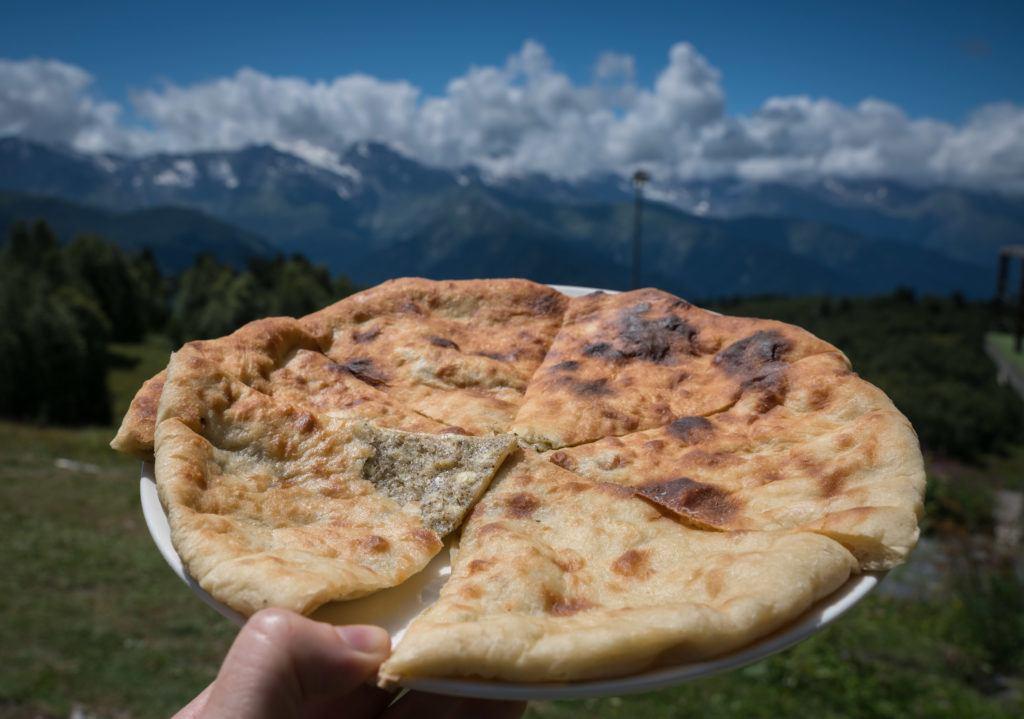 Svaneti Cuisine: Fetvraal (Svanetian Khachapuri)