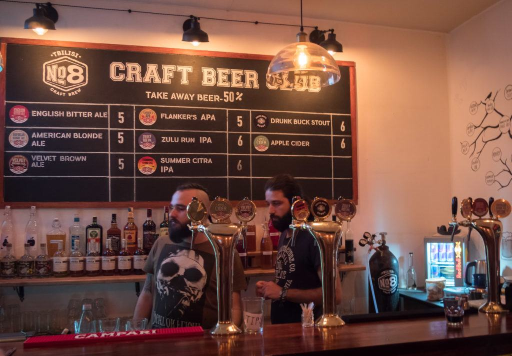 Things To Do in Tbilisi attractions | Places To Visit In Tbilisi Map Google: Craft Beer Tbilisi @ no.8 Bar and grill