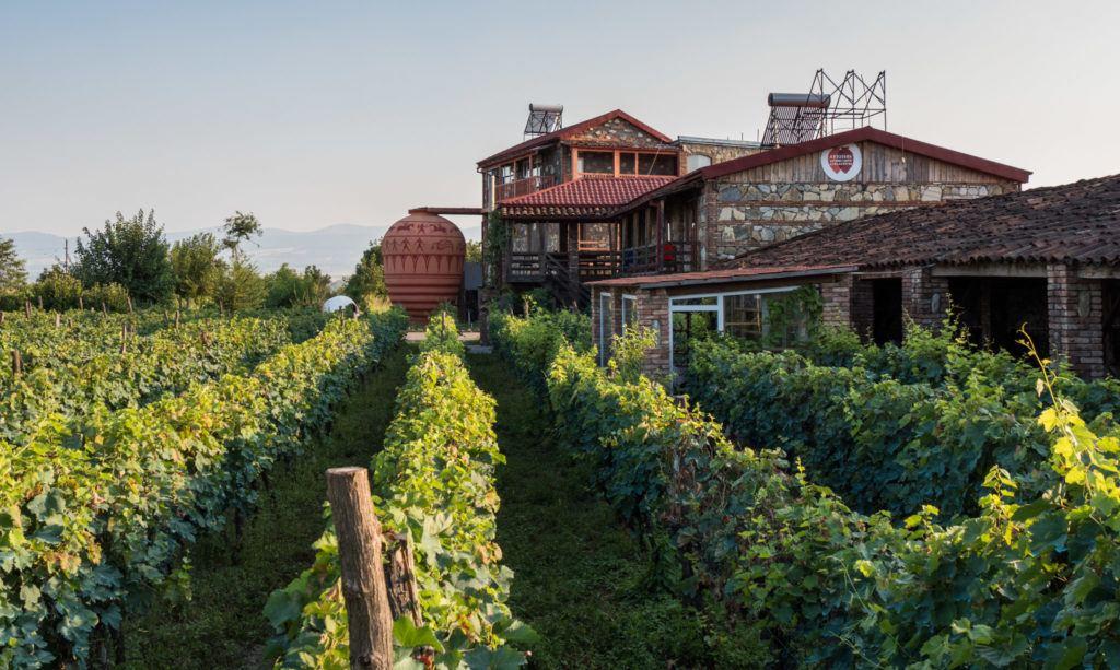 20 Best Vineyards In Georgia (Europe) inc. Georgia Wineries Map